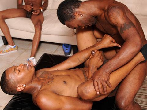 Grosse touze mecs blacks avec antillais et black homosexuel TTBM !