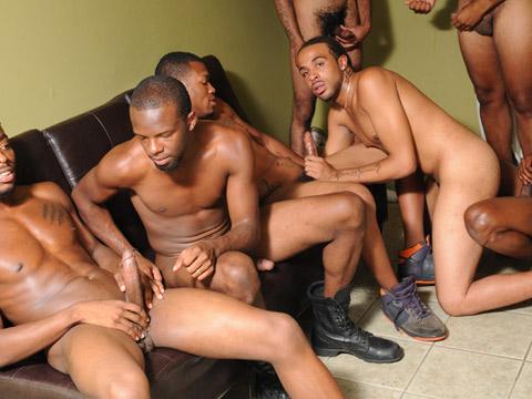 Touze mecs blacks gays TTBM en orgie 100 % xxx homo noir porno !